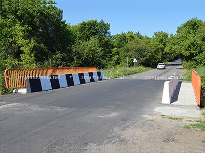 Перильное (пешеходное) ограждение. Объект: Каменная Яруга. 2020 г