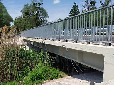 Мостовое и перильное ограждение. Объект: Пролетарское. 2020 г